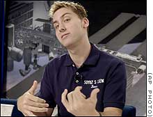 'N Sync's Lance Bass = Neil Armstrong?