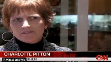 Charlotte Pitton: angry mother.